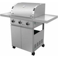 Studio 3 Burner Portable Natural Gas Barbecue Grill
