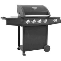 Mastercook 5-Burner Portable Liquid Propane Gas Barbecue Grill