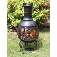Cordoba Steel Wood/Charcoal Chiminea