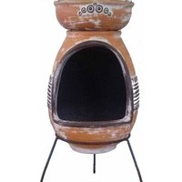 Asadro Parilla Steel Wood/Charcoal Chiminea