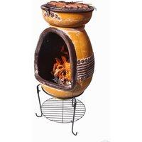 Asadro Parilla Steel Wood/Charcoal Chiminea