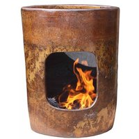 Altiplano Mexican Clay Wood Chiminea