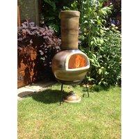 Sempra Clay Charcoal/Wood Burning Chimenea
