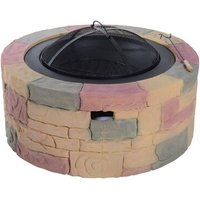 Patio Stone Charcoal Fire Pit