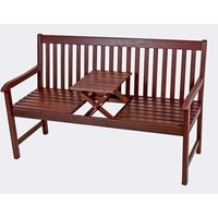 Wooden Love Seat