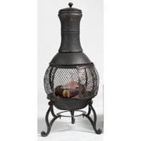 Pluto Cast Iron Wood Chiminea