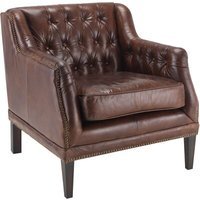 Fiona Leather Armchair
