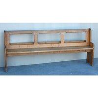 Wood Hallway Bench