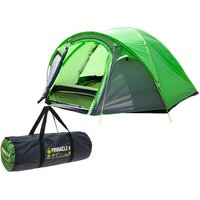 Hydra Pinnacle Double Skin Dome 4 Person Tent With Carry Bag