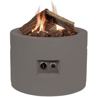 Round Propane Gas Fire Pit