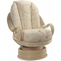 Dickinson Natural Deluxe Swivel Armchair