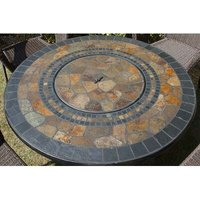 Durango Stone Charcoal Fire Pit Table