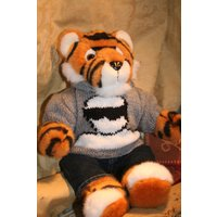 Hand KNitted Sweater with The Stig from Top Gear fits Build a Bear - Top Gear Gifts