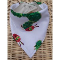 Bandana Dribble Bib  The Very Hungry Caterpillar  Gorgeous! - The Very Hungry Caterpillar Gifts