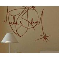 Large Michael Jackson Signature Wall Mural Giant Art Sticker Decal Vinyl - Michael Jackson Gifts