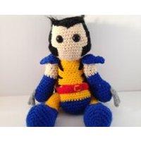 Wolverine crochet amigurumi doll - Wolverine Gifts