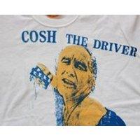 Cosh The Driver Tshirt  Punk  Screenprinted Tee White  Tshirt  Sex Pistols  Unisex  Small 36 SALE - Sex Pistols Gifts