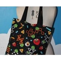 SALE  angry birds tote bag - Angry Birds Gifts