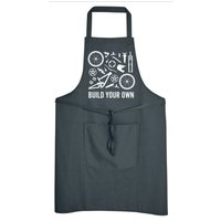 Build Your Own Down Hill Bike Mens Womens Apron Mtb Road Racing Bike Mechanic Cycling Clothing Workwear Shop NEW - Build Your Own Gifts
