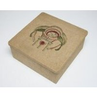 Rare Scottish Glasgow Arts and Crafts linen embroidery box, made circa 1910 Art Nouveau - Arts And Crafts Gifts