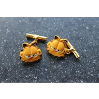 Vintage Garfield cufflinks, - Garfield Gifts