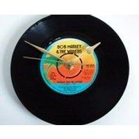 Bob Marley Vinyl Record CLOCK from recycled 7 single Choose your favourite... Reggae Ska island jamaica sunset gift - Bob Marley Gifts