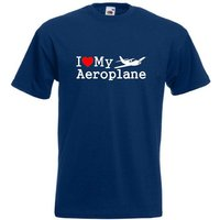 I Love My Aeroplane TShirt Joke Funny Tshirt Tee Shirt Airplane Plane Flying RC Pilot - Rc Gifts