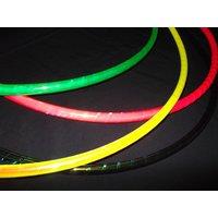 Rainbow Dragon 30/32/34 Lightweight Polypro Dance HULA HOOP  Coloured Iridescent Morph - Morph Gifts