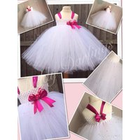 Christening Tutu Dress.Hundreds Of Crystals.All Sizes Fully Customised.Christenings/Weddings/Holy Communion/Bridesmaid Dres Special Occasion - First Holy Communion Gifts