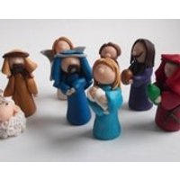 Nativity Set in Four parts, Build your own custom nativity - Build Your Own Gifts