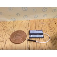 Hand made Dolls house Miniature replica electronic stylophone  1/12 scale - Electronic Gifts