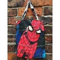 Mini Marvel tote bag  Spider Man Swinging - Spider Man Gifts