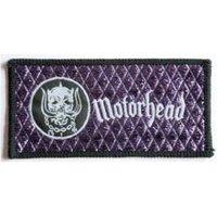 Motorhead  Warpig Purple  Woven Patch - Motorhead Gifts