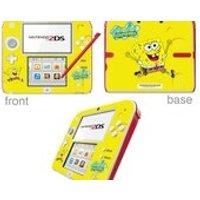 SpongeBob SquarePants Vinyl Skin Sticker for Nintendo DS lite/DSi/DSi xl/3DS/3DS xl/New 3DS cstick/New 3DS xl cstick/2DS - Spongebob Squarepants Gifts