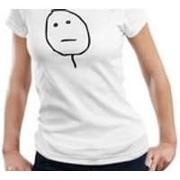 Poker Face Ladies Woman Meme Internet Party Birthday Party Gift T shirt Tshirt Top S3XL - Poker Gifts