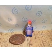 Hand made Dolls house Miniature replica electronic major morgan educational toy  1/12 scale - Electronic Gifts