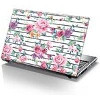 TaylorHe Laptop Skin Sticker Elegant Pastel Roses - Computers Gifts