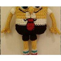 Crochet Spongebob SquarePants - Spongebob Squarepants Gifts