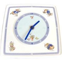 Peter Rabbit wall clock  childrens clock  Wedgwood Beatrix Potter nursery story - Beatrix Potter Gifts