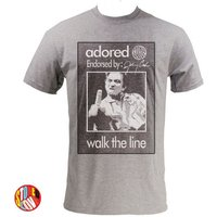 Johnny Cash Walk The Line Adored TShirt  Kids  Adult Sizes - Johnny Cash Gifts