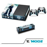 Final Fantasy 7 FF7 Xbox One Console Skin Sticker Kinect decal  2 controller Vinyl - Xbox Gifts