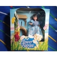 Vintage Hornby Flower Fairies 1983 RARE Freesia Wishing Well Fairy dress wings flowers Cicely Mary Barker 1980s faerie dolls accessory boxed - Hornby Gifts