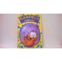 Garfield Annual Published 1991, (3rd) Excellent Condition,Collectable Collectible Rare Book, Garfield Comic Strips,Puzzles,Garfield Fan Gift - Garfield Gifts