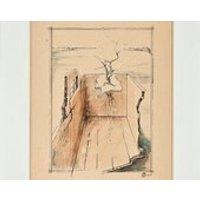 RICHARD BENEDETTI  original surrealist vintage painting  c1960s (listed 20th Century American artist  Salvador Dali protege) - Artist Gifts
