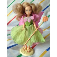 Vintage Hornby Flower Fairies 1983 FUMITORY dress wings Fairy Cicely Mary Barker 1980s faerie dolls deluxe costume wand - Hornby Gifts