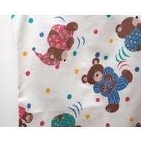 Vintage single duvet cover and pillowcase in teddy bears in pyjamas design - Teddy Bears Gifts