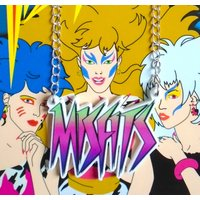 The Misfits Jem and the Holograms logo necklace - Misfits Gifts