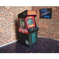 MICHAEL JACKSON MOONWALKER Arcade   Miniature Arcade Machine Model  1/12th Scale - Michael Jackson Gifts