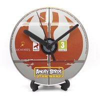 Angry Birds Star Wars PC Upcycled CD Disc Clock Video Game Gift Idea - Angry Birds Gifts