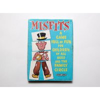Vintage Misfits character card game in original box by Spears Games, 1964 - Misfits Gifts